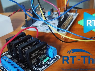 Smart Watering plants Using RTOS RT Thread in STM32