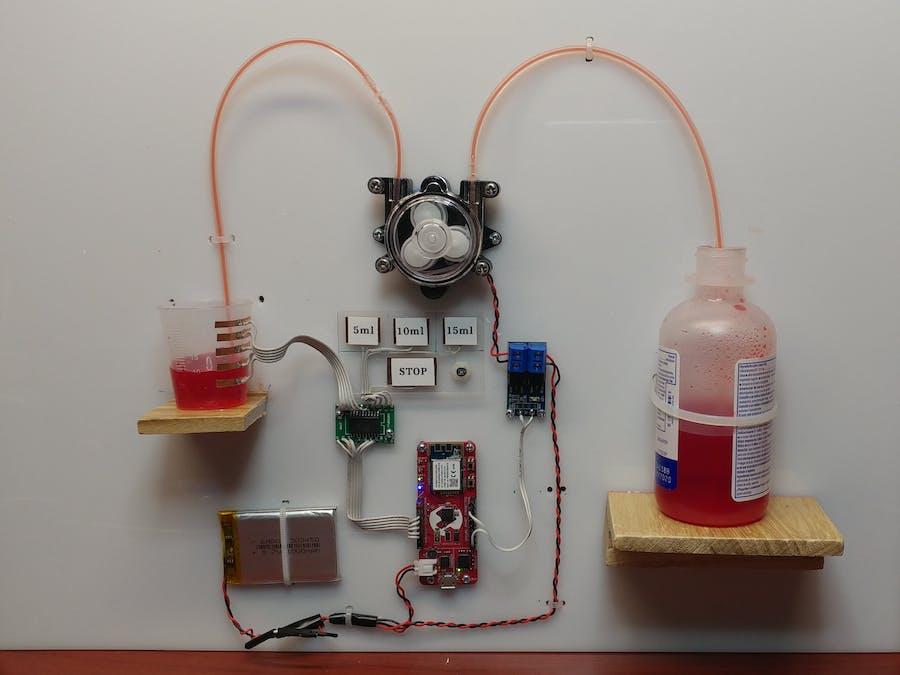 Smart Liquid Medicine Dispenser