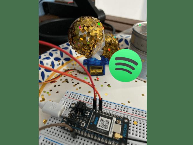 Lane Tech HS PCL- Spotify API Data Visualization w/ Particle