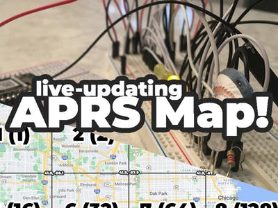 Lane Tech HS - PCL - APRS Map Display
