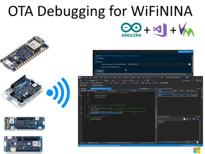 Wifi Debugging for WifiNINA Arduino Boards