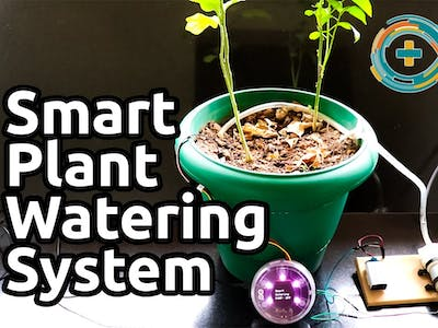 Automatic Plant Watering System using Arduino Opla IoT Kit