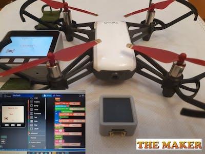 M5 Block Dji Tello Drone Control