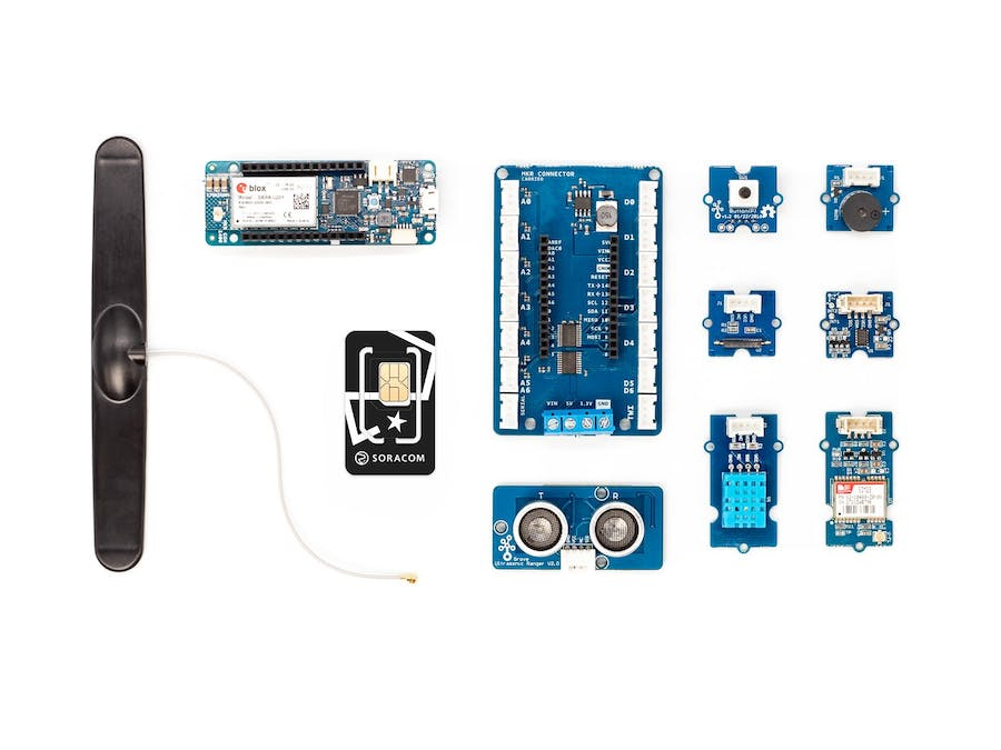 Getting Started with the Soracom IoT Starter Kit