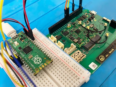 Adding Cellular to the Raspberry Pi Pico