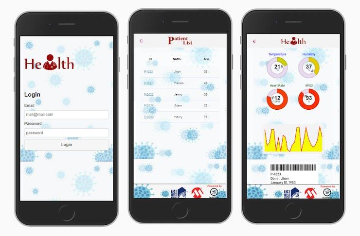 Aplicación móvil de monitoreo remoto