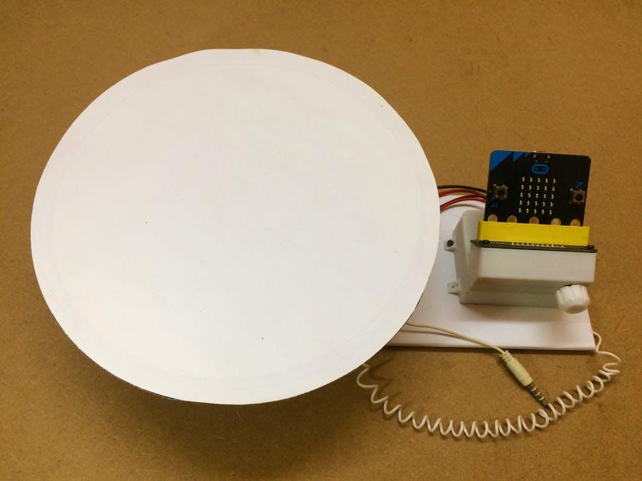 Automatic Photo Capturing Turntable with MicroBit