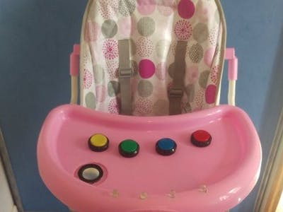 Baby High Chair Musical