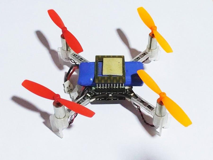 Autonomous Crazyflie with Optical flow and ToF sensors