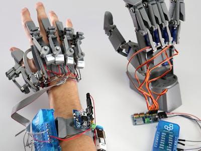 YouBionic Robot + Exo Hands