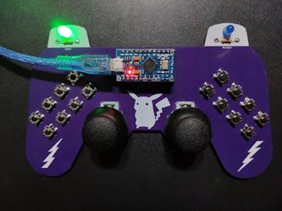 Arduino-Based (ATmega32U4) Mouse and Keyboard Controller