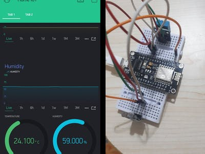 A step to use Blynk for IoT!