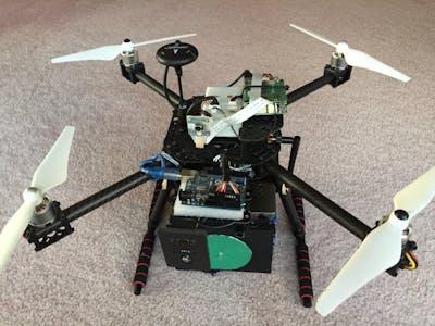 A Multifunctional Community Helper Drone