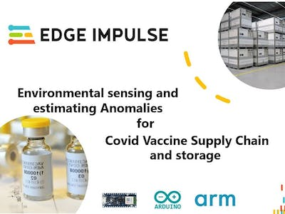 Environmental Sensing for Covid Vaccine Cold Chain
