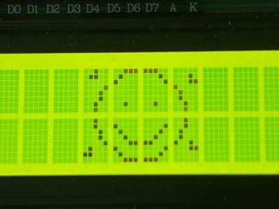 Create Custom Animations on 16x2 LCD Displays