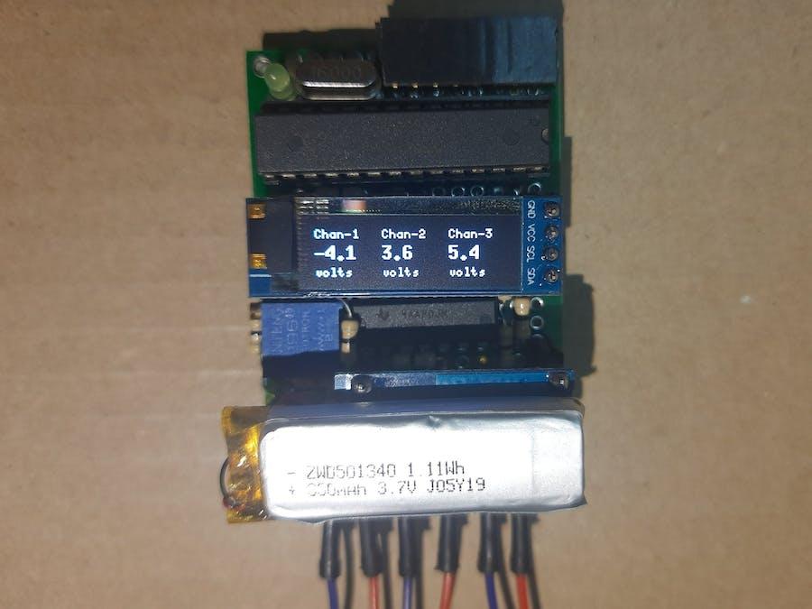 Arduino Negative Voltmeter