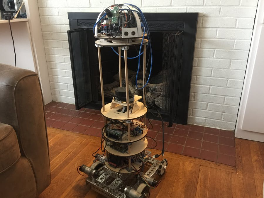Autonomous Home Robot to Help Around the House!