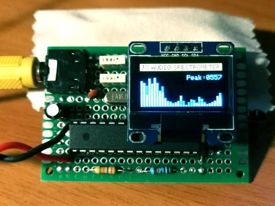 JX Audio Spectrometer