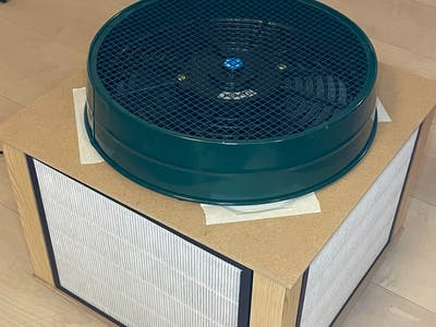 Klassenzimmer-Antivirus (Raumluftfilter)
