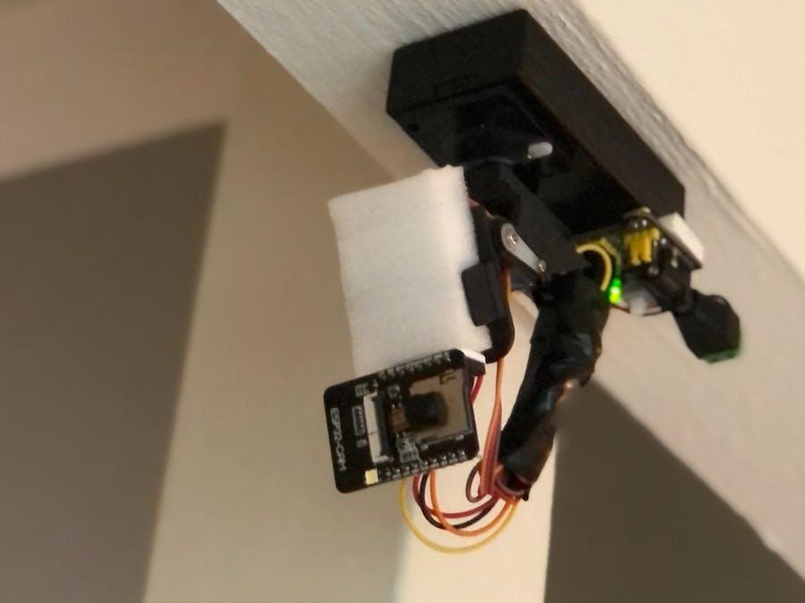 ESP32-CAM Video Surveillance Smart Camera
