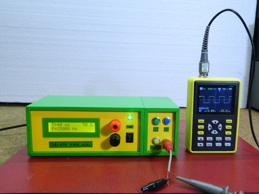 DIY Simple Square Wave Generator Up to 1MHz