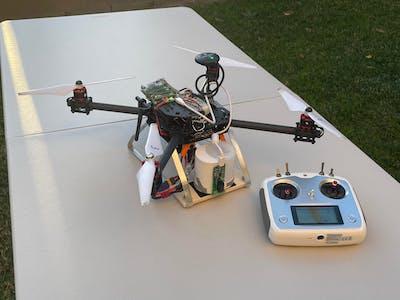 Sanitizing Drone