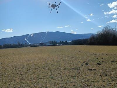 Land surveying for crop yield optimization