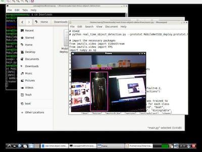Object Detection using MobileNet Single Shot Detector