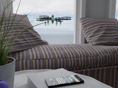 Virtual Entertainment Touring Drone