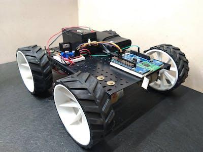 BLE Robot Car Using Realtek Ameba RTL8722DM (AMB21) Board