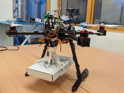 Corona Virus Test/Vaccination transport Drone