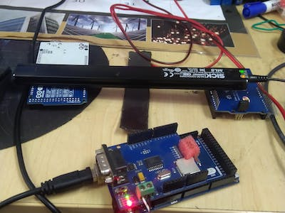 Arduino Interface With Magnetic Tape Sensor Used in AGVs