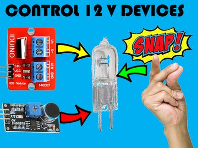 Tutorial: Control 12V devices with Arduino Mosfet module