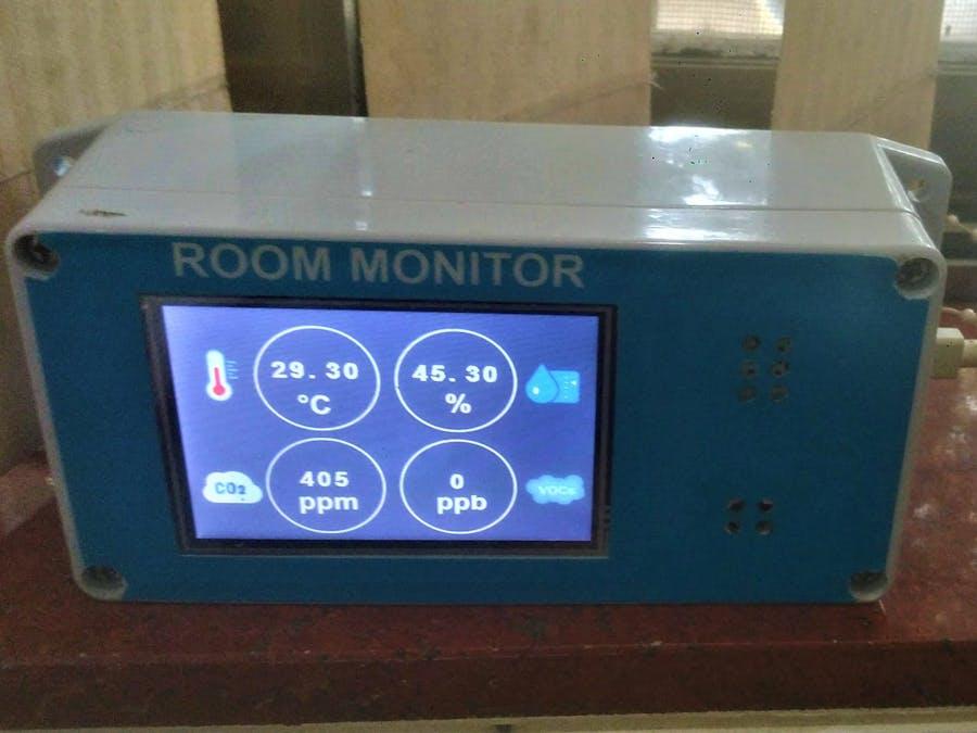 Portable Room Monitor