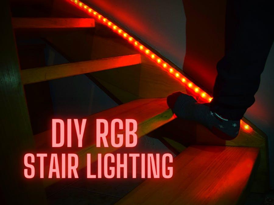 Stair Lights - DIY, RGB, Automatic