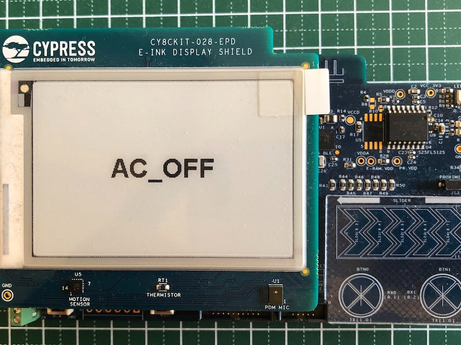 Voice Recognition Using PSoC6 BLE Pioneer Kit