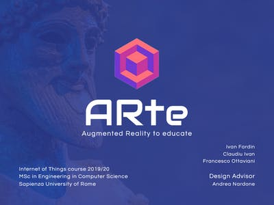 ARte: Augmented Reality to Educate