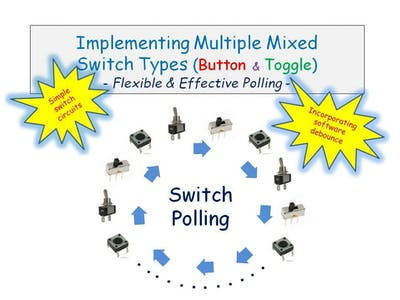Implementing Multiple Mixed Switch Types By Polling
