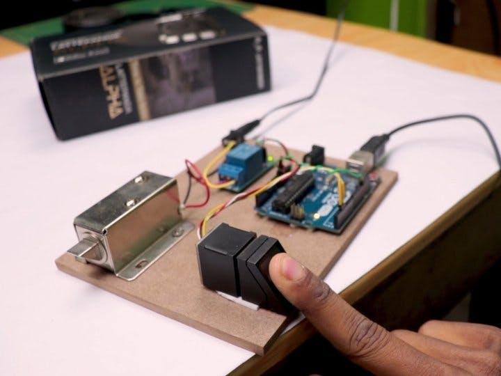 DIY Fingerprint Door lock System