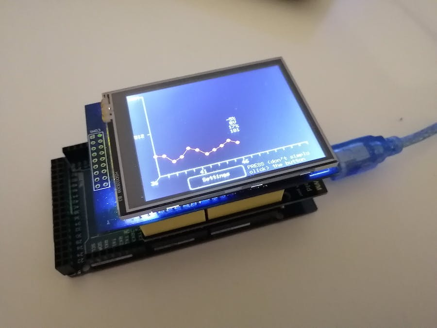 How to Create a Data Displaying System with a TFT Screen #2