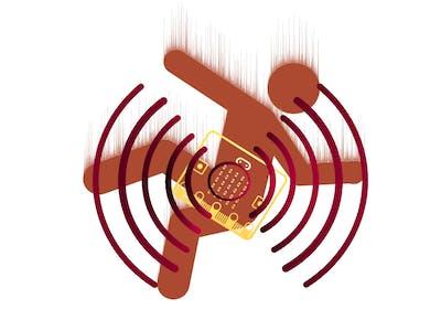 Fall Detection & Alert w/ micro:bit & Ada