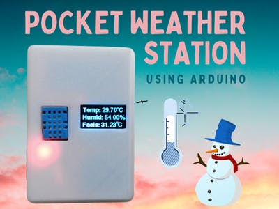 Pocket Weather Station Using Arduino