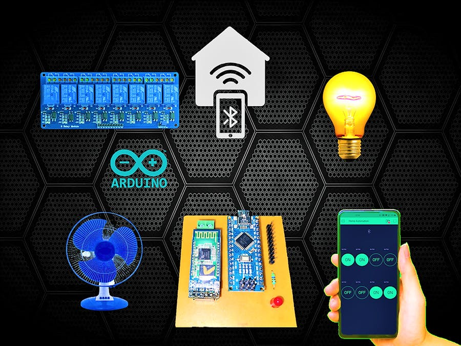 Home Automation System Using Smartphone and Bluetooth
