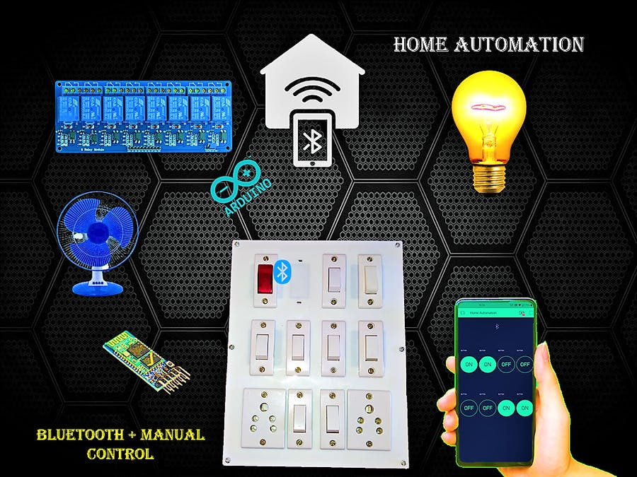 Home Automation System Using Smartphone and Bluetooth Part 2