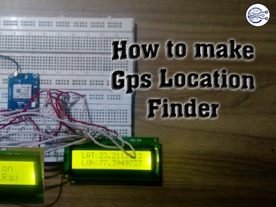 How to make a Gps_Location_Finder with Arduino