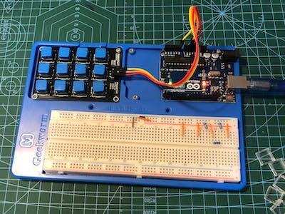 Keypad 3x4 Analog out
