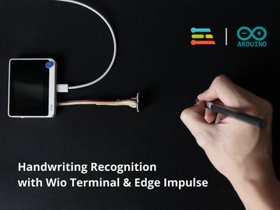 Handwriting Recognition with Wio Terminal & Edge Impulse