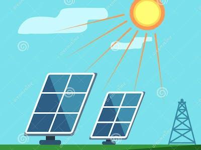 Solar panel rotator