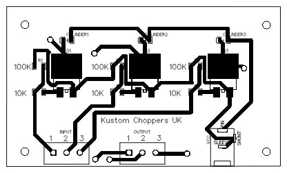 This is my PCB - even got my Facebook page on there