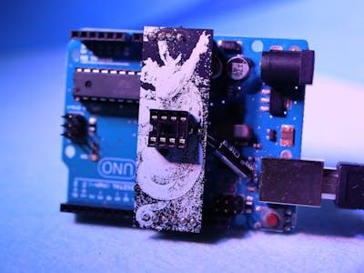 ATtiny85 Programmer Shield for Arduino Uno